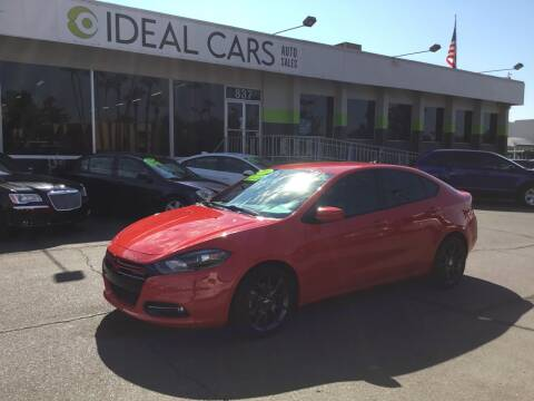 2016 Dodge Dart for sale at Ideal Cars in Mesa AZ