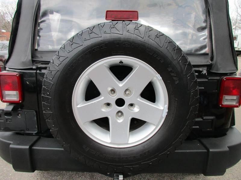 2007 Jeep Wrangler 4x4 Sahara 2dr SUV - Raleigh NC
