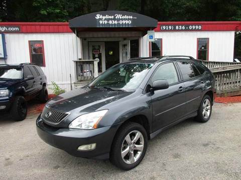 lexus rx 330 for sale in raleigh nc. Black Bedroom Furniture Sets. Home Design Ideas