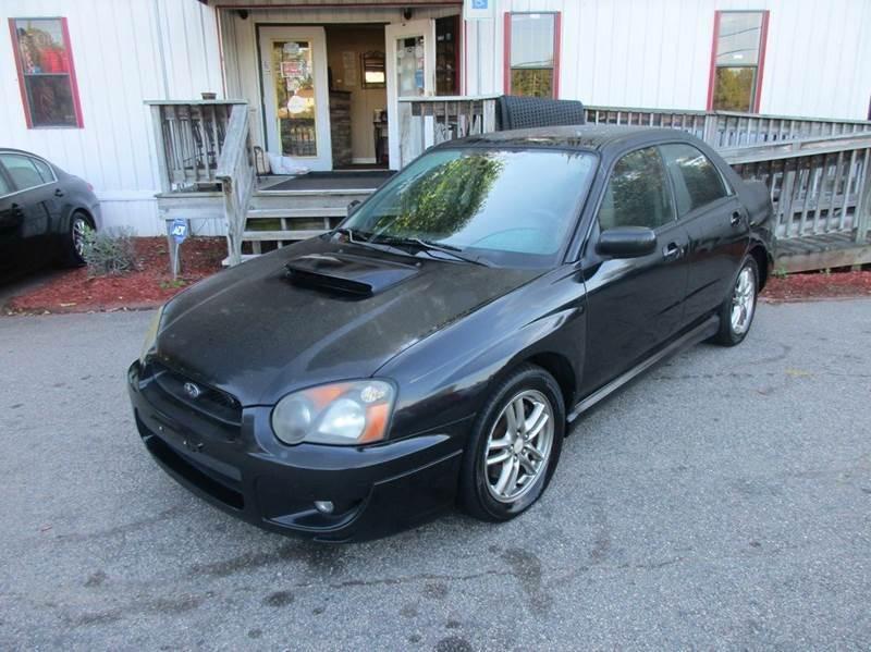 2005 Subaru Impreza AWD 4dr WRX Turbo Sedan - Raleigh NC