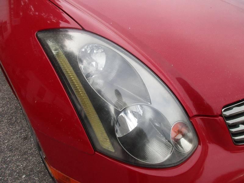 2003 Infiniti G35 2dr Coupe - Raleigh NC