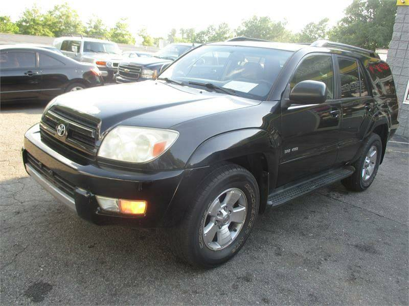 2004 Toyota 4Runner SR5 4WD 4dr SUV - Raleigh NC