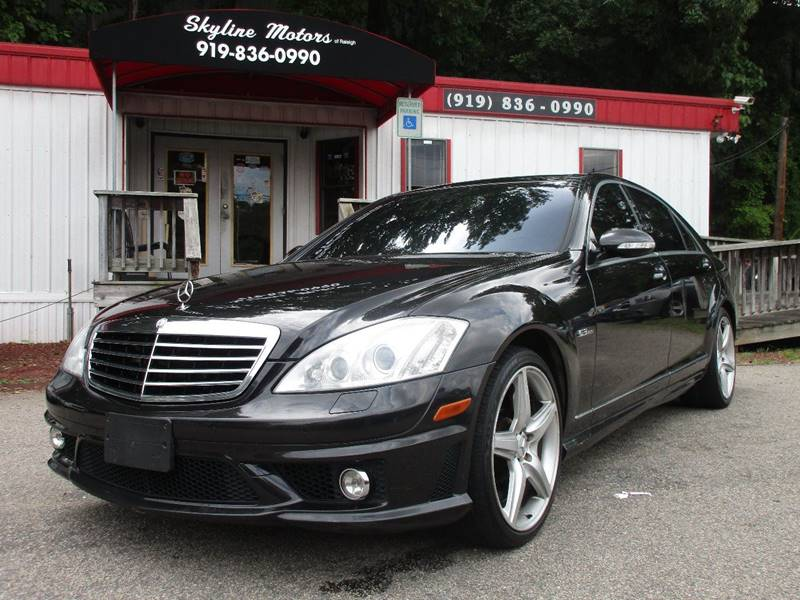 2009 mercedes benz s class s 63 amg 4dr sedan in raleigh for Mercedes benz of raleigh nc