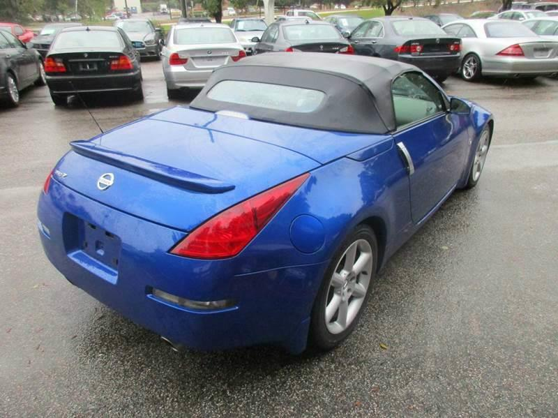 2004 Nissan 350Z Touring 2dr Roadster - Raleigh NC