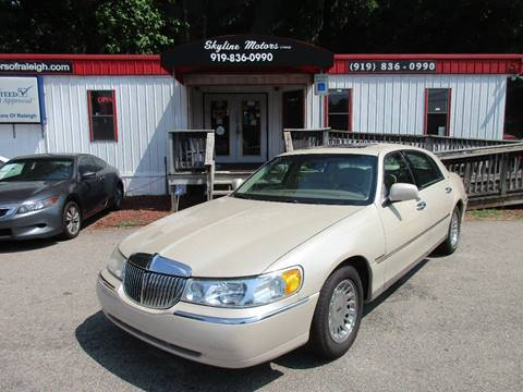 2000 Lincoln Town Car For Sale In Rocky Mount Nc Carsforsale Com