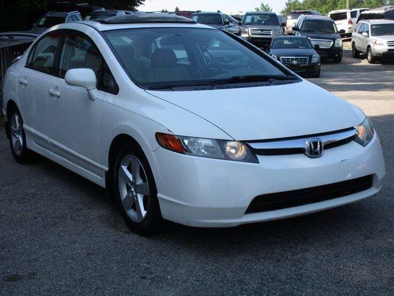 2007 Honda Civic EX 4dr Sedan (1.8L I4 5A) - Raleigh NC