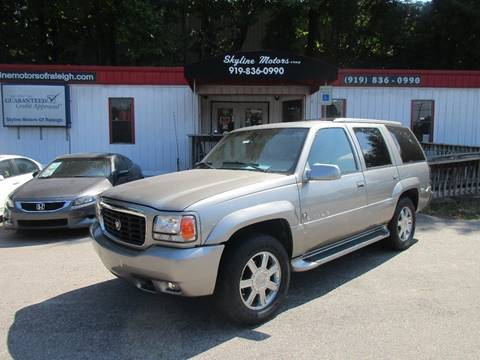 2000 Cadillac Escalade for sale in Raleigh, NC