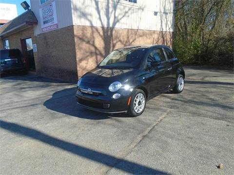 Used fiat 500 for sale in north carolina for Skyline motors raleigh nc