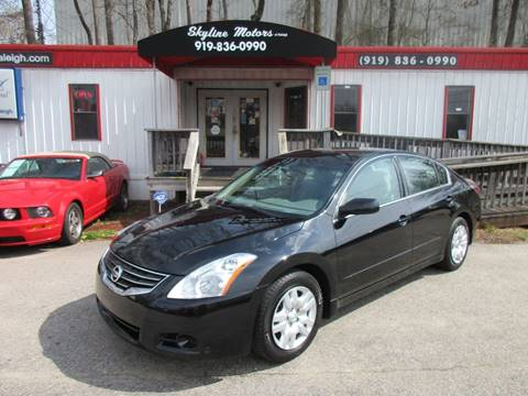 Nissan altima for sale in raleigh nc for Skyline motors raleigh nc