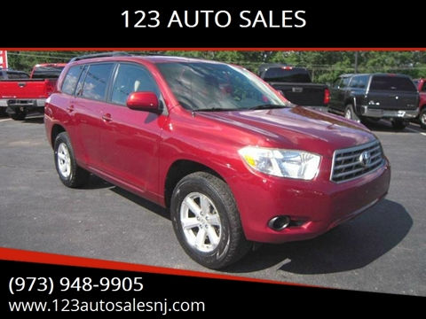 2008 Toyota Highlander for sale at 1-2-3 AUTO SALES, LLC in Branchville NJ