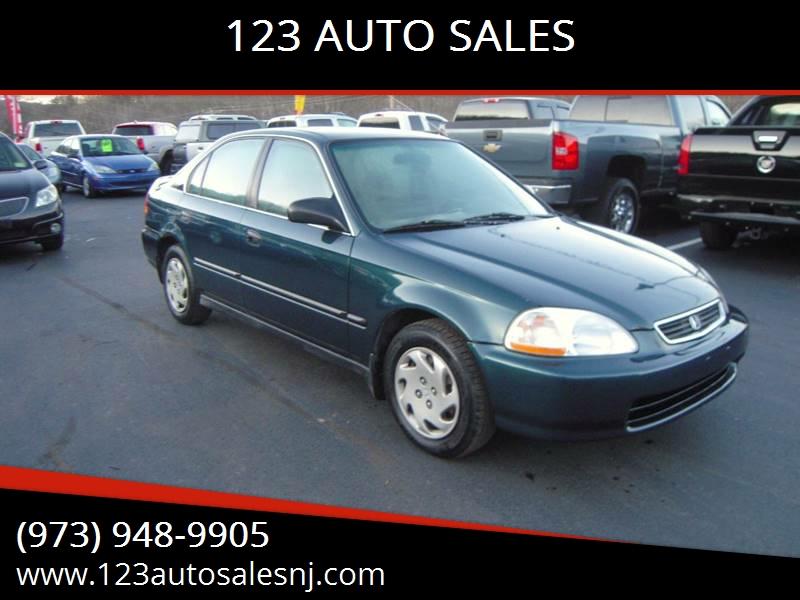 1997 Honda Civic LX In Branchville NJ - 123 AUTO SALES
