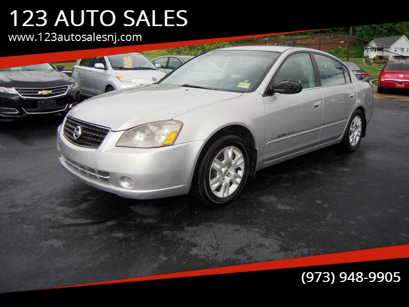 2006 Nissan Altima 25 S 4dr Sedan Wautomatic In Branchville Nj
