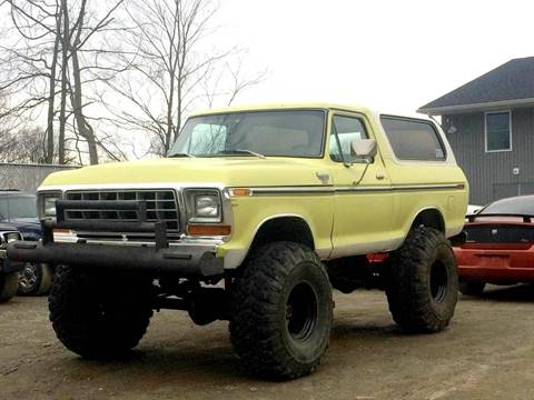1979 Ford Bronco For Sale In Branchville NJ