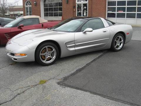 2004 Chevrolet Corvette for sale at Jacksons Auto Sales in Landisville PA