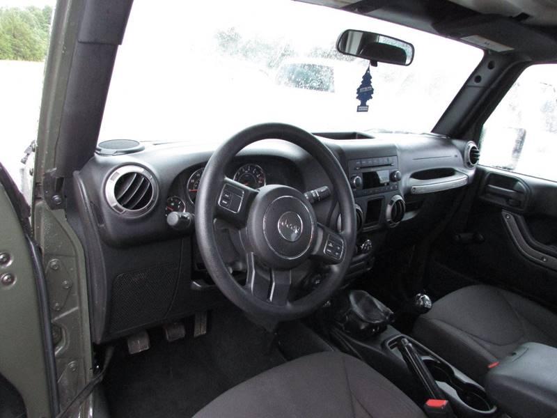 2015 Jeep Wrangler 4x4 Sport 2dr SUV - Salem AR