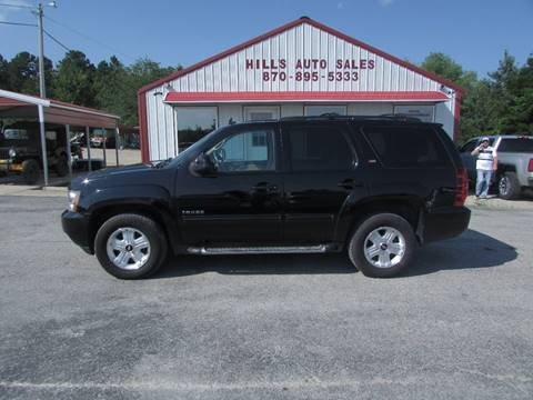 2012 Chevrolet Tahoe for sale at Hills Auto Sales in Salem AR