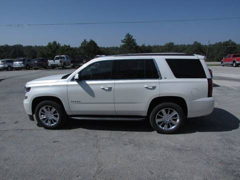 2015 Chevrolet Tahoe for sale at Hills Auto Sales in Salem AR