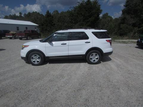 2014 Ford Explorer for sale at Hills Auto Sales in Salem AR