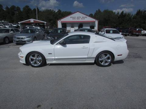 2007 Ford Mustang for sale at Hills Auto Sales in Salem AR
