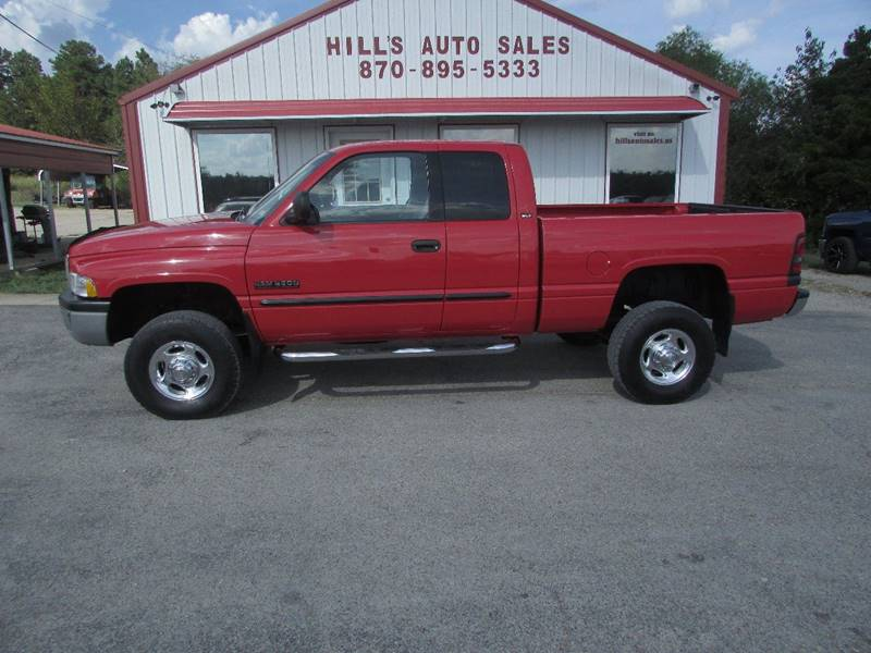 2001 Dodge Ram Pickup 2500 for sale at Hills Auto Sales in Salem AR