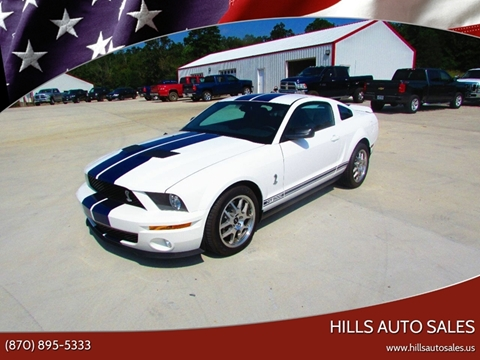 2009 Ford Shelby GT500 for sale in Salem, AR