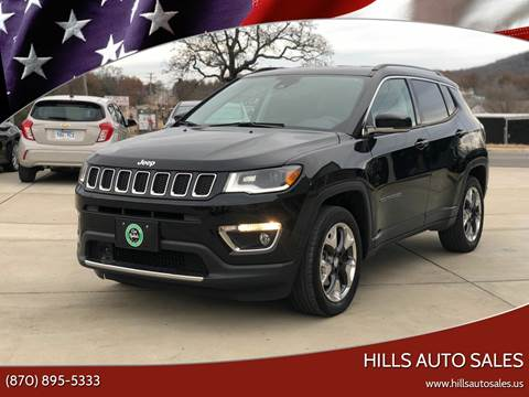 2018 Jeep Compass for sale at Hills Auto Sales in Salem AR
