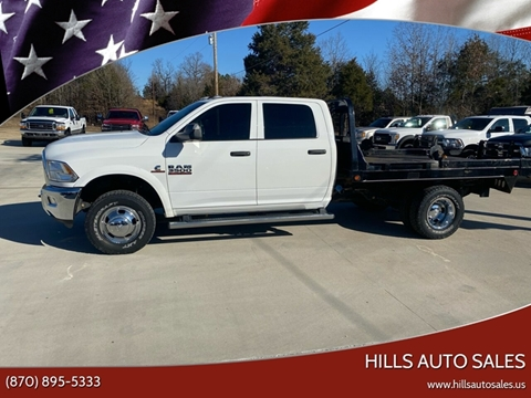 2017 RAM Ram Chassis 3500 for sale at Hills Auto Sales in Salem AR