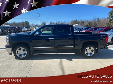 2015 Chevrolet Silverado 1500 LTZ for sale at Hills Auto Sales in Salem AR
