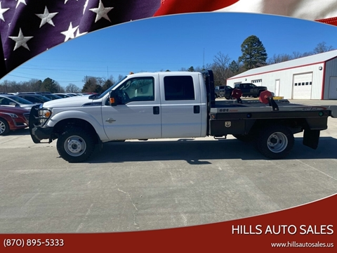 2016 Ford F-350 Super Duty XLT for sale at Hills Auto Sales in Salem AR