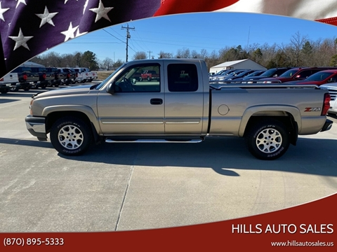 2005 Chevrolet Silverado 1500 LS for sale at Hills Auto Sales in Salem AR