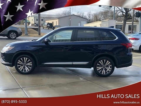 2019 Mitsubishi Outlander SEL for sale at Hills Auto Sales in Salem AR