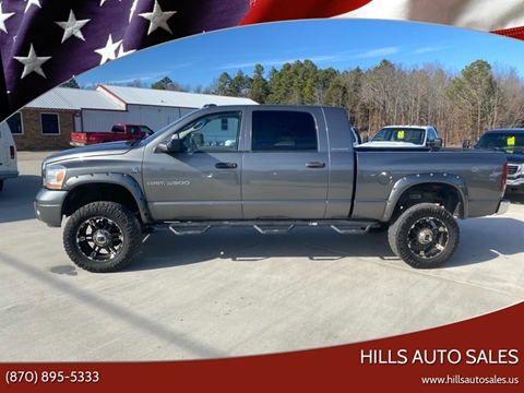 2006 Dodge Ram Pickup 3500 SLT for sale at Hills Auto Sales in Salem AR