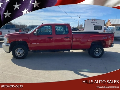 2011 Chevrolet Silverado 3500HD Work Truck for sale at Hills Auto Sales in Salem AR