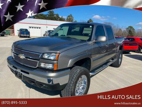 2006 Chevrolet Silverado 1500 LT2 for sale at Hills Auto Sales in Salem AR