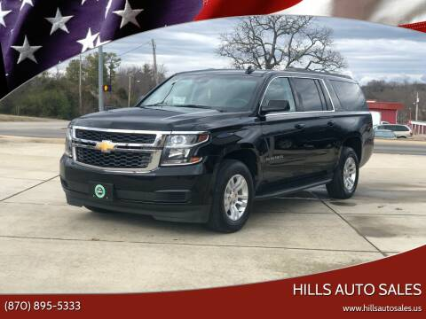 2018 Chevrolet Suburban for sale at Hills Auto Sales in Salem AR