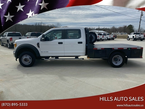 2017 Ford F-550 Super Duty for sale at Hills Auto Sales in Salem AR