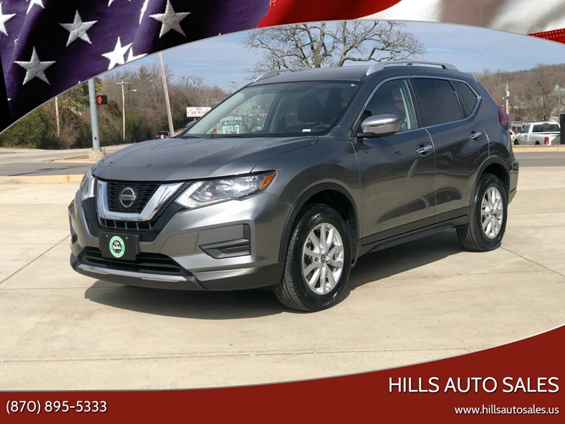 2018 Nissan Rogue for sale at Hills Auto Sales in Salem AR