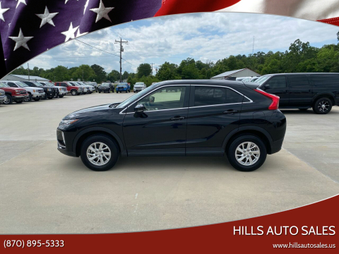 2019 Mitsubishi Eclipse Cross for sale at Hills Auto Sales in Salem AR