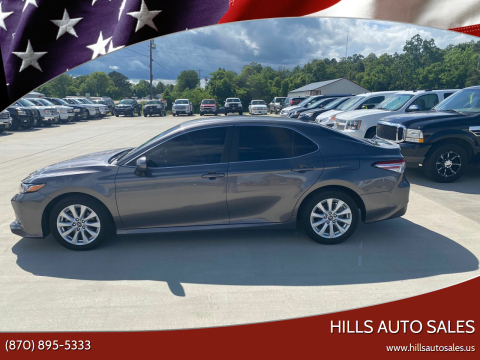 2019 Toyota Camry for sale at Hills Auto Sales in Salem AR