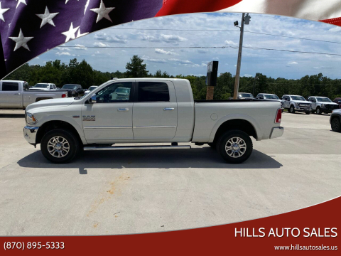 2017 RAM Ram Pickup 2500 for sale at Hills Auto Sales in Salem AR