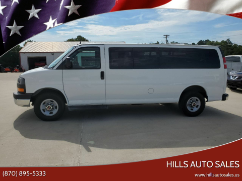 2015 GMC Savana Passenger for sale at Hills Auto Sales in Salem AR