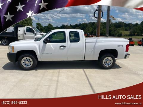 2012 Chevrolet Silverado 1500 for sale at Hills Auto Sales in Salem AR