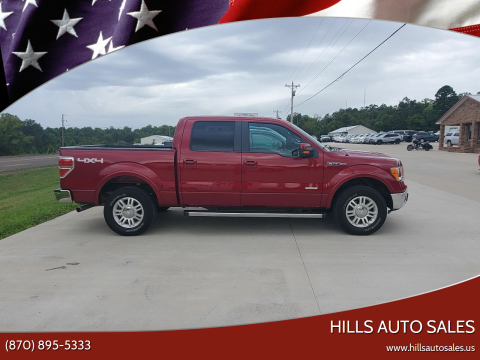2013 Ford F-150 for sale at Hills Auto Sales in Salem AR