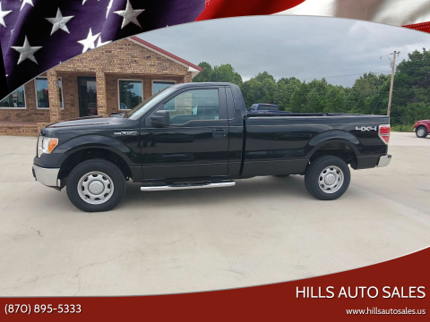 2010 Ford F-150 for sale at Hills Auto Sales in Salem AR