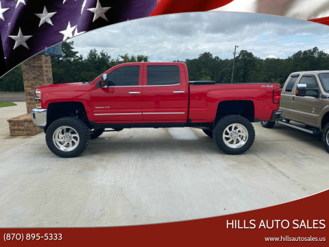 2016 Chevrolet Silverado 2500HD for sale at Hills Auto Sales in Salem AR