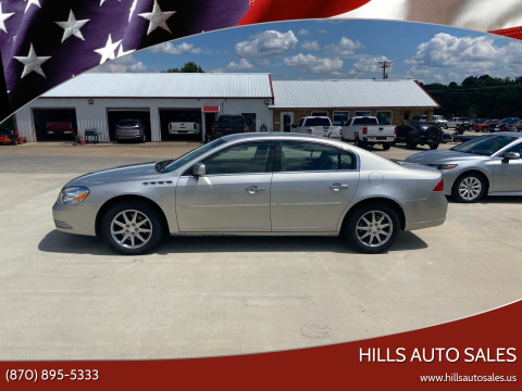 2007 Buick Lucerne for sale at Hills Auto Sales in Salem AR