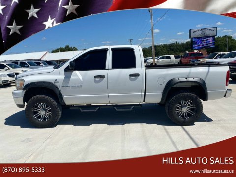 2006 Dodge Ram Pickup 2500 for sale at Hills Auto Sales in Salem AR