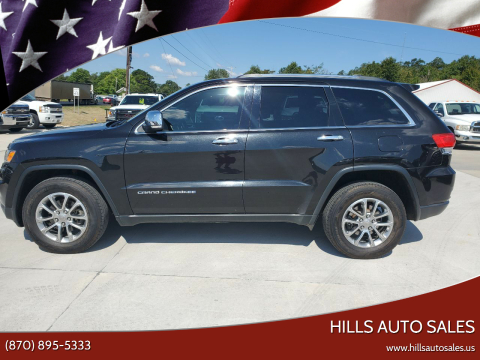 2015 Jeep Grand Cherokee for sale at Hills Auto Sales in Salem AR