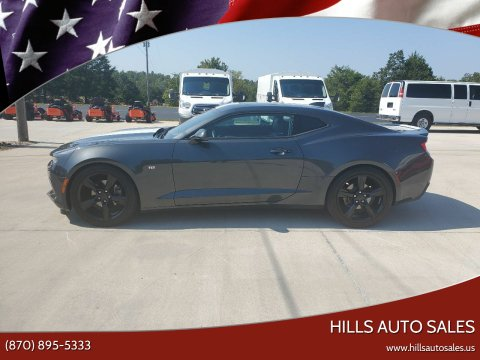 2017 Chevrolet Camaro for sale at Hills Auto Sales in Salem AR