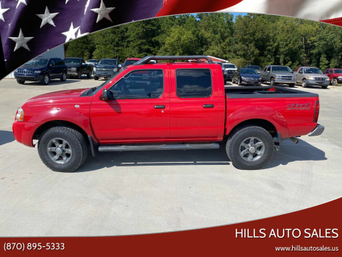 2003 Nissan Frontier for sale at Hills Auto Sales in Salem AR